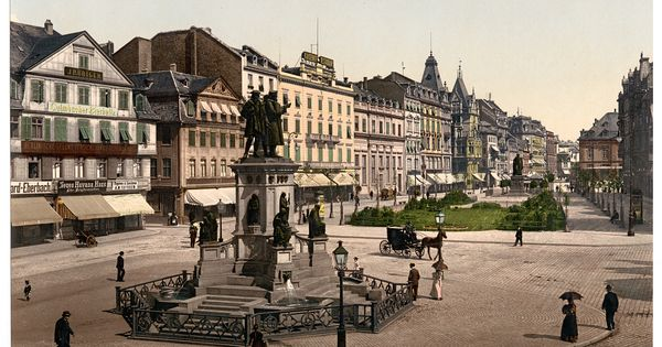 Germany At The End Of The 19th Century Before Wwii Historical Photos Skyscrapercity In 2020 Germany Cities In Germany Frankfurt Am Main