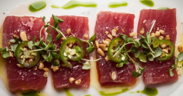 Tuna carpaccio in Filandia