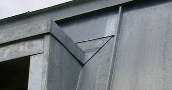 Millennium Metal Roofing Zinc Architectural Detail