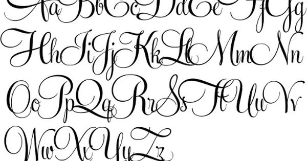 498 338 pixels for Flowy tattoo fonts
