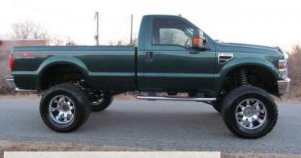 2008 Ford F 350 Super Duty Xlt Lifted Truck Trucks Lifted