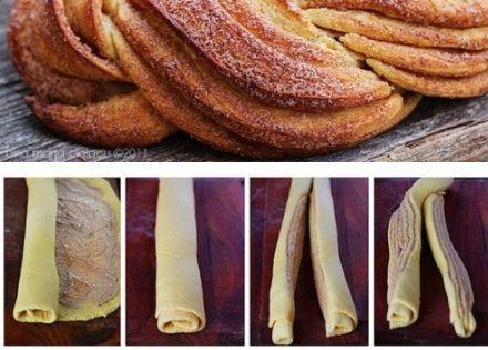 Braided Cinnamon Sweet Bread - yum! cinnamon bread