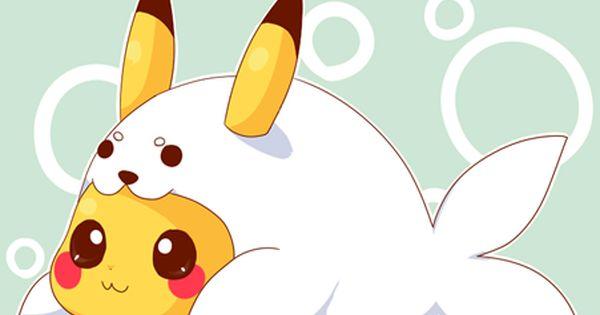 Pictures Of Pokemon Outfits Pikachu Pokemon Cute Kawaii Seal