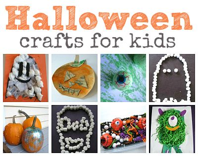 Halloween Crafts for Kids Ideas