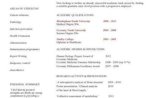 Academic CV Template, Curriculum Vitae, Academic Cvs, Student, Application, Jobs, CV