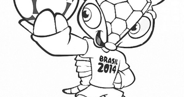 fifa 2014 coloring pages - photo#16
