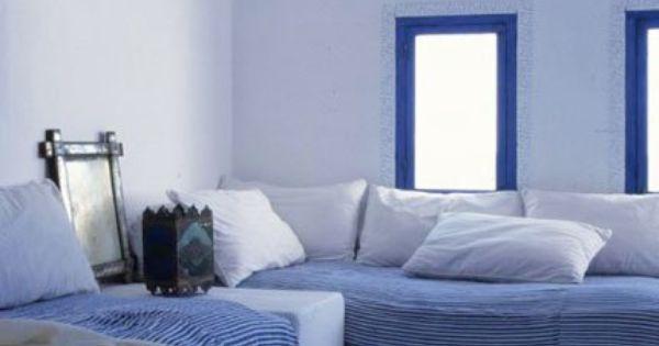 Peinture la chaux salons banquettes and bedrooms - Peinture a la chaux ...