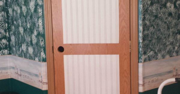 Mobile Home Interior Door Makeover Door Makeover