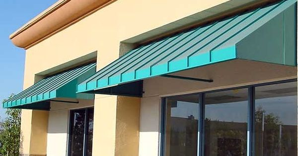 This Picture Illustrates Nautical Series With Closed Ends And Open Bases The Frames Are Typically Made Fr Metal Awning Industrial Real Estate Galvanized Sheet