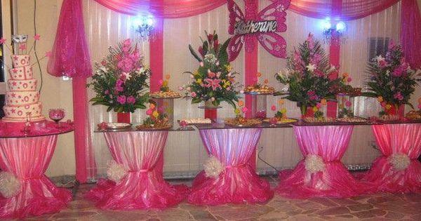 Arreglo Floral Para Quinceanera Arreglo Floral Mesa De