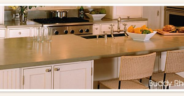 concrete countertops compare in pricing to other countertop materials ...