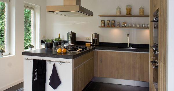 Modern landelijke keuken combineert gezelligheid met eigentijdse stijl home country kitchen - Eigentijdse design keuken ...