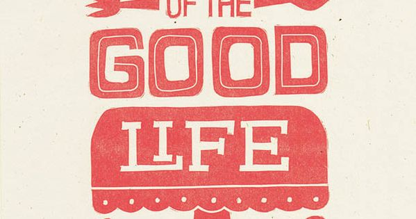 A Taste of the Good Life print from niftyswank on Etsy, cute
