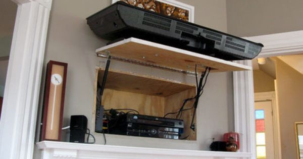 Hide Dvd Player In Wall Living Room Pinterest Best