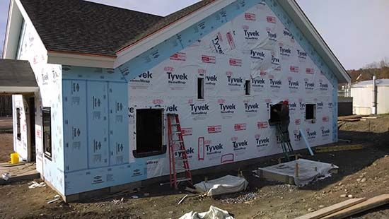 Installing Foam Board Insulation Under Vinyl Siding Today More Than Ever Before Homes Are Being B Exterior Insulation Exterior Foam Insulation Insulated Siding