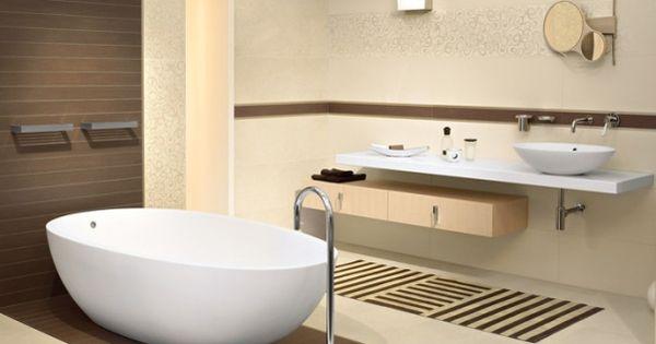 Ba os color chocolate modernos buscar con google ba os - Modelos de cuarto de bano ...