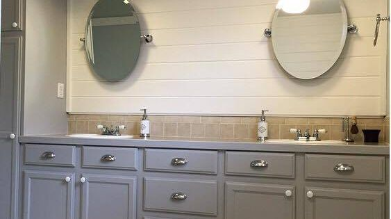 Best Master Bath Transformation With General Finishes Seagull 640 x 480