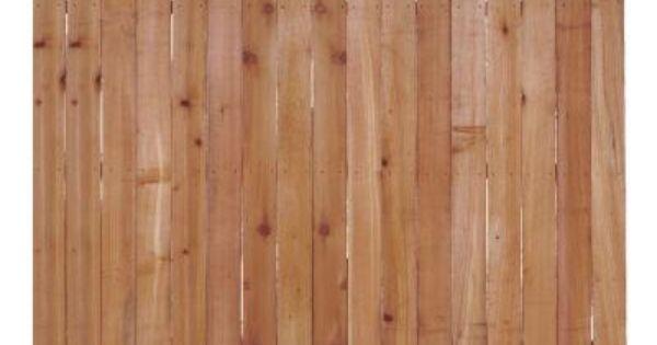 Home Depot Cedar Dog Ear