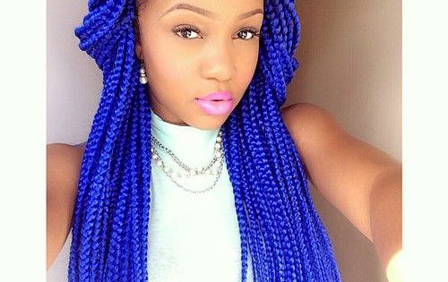 Virgin Hair Styles Braids: 65 Box Braids Hairstyles For Black Women