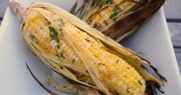 Grilled Thai Corn on the Cob