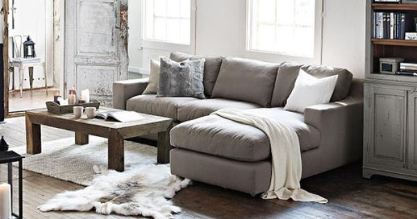 Love the L-shaped couch | Home Deco | Pinterest | Living rooms, Room and  Apartments