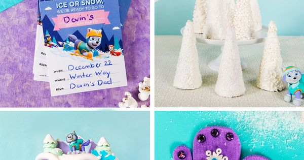 Throw A Paw Patrol Everest Birthday Party Birthday Party Activities Paw Patrol Birthday Party Birthday Party Games For Kids