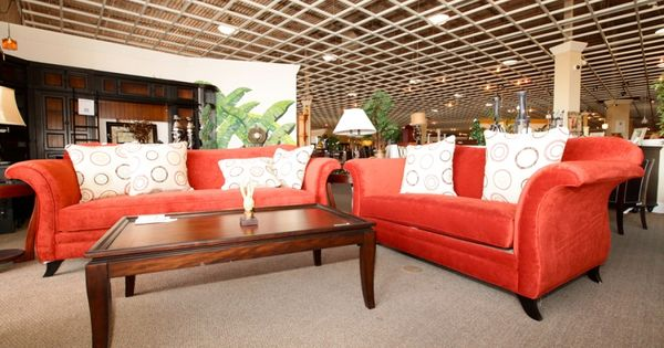 Funky Red Sofa and Love Seat - Colleenu0026#39;s Classic Consignment, Las Vegas, NV - www.colleenconsign ...