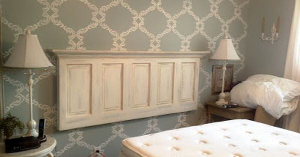 How To Turn An Old Door Into A Headboard Tutorials And