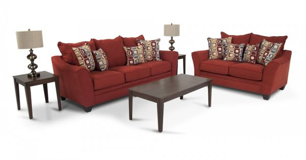 Delish 7 piece set living room sets living room bob for Bobs furniture living room sets