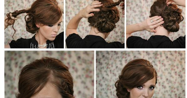 Hairstyling Tutorial: The Twisted Side Bun