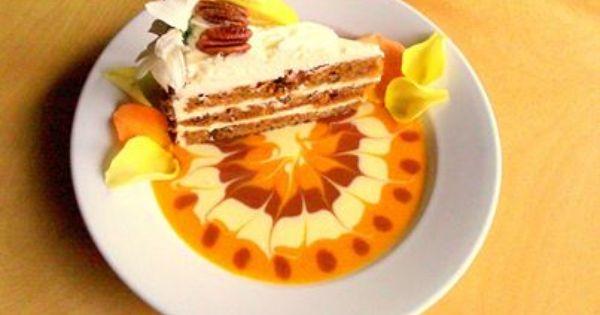 ... Flourless Pumpkin Apple Pecan Torte served with Dulce …   Pinteres
