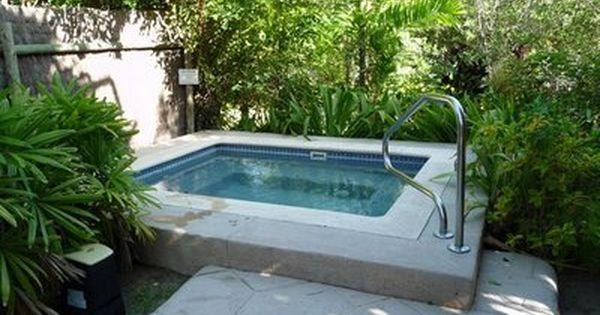 Diy plunge pools diy plunge pool t1q3ohca beach house for Garden plunge pool