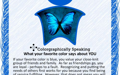 Blue Blue Find Out What Your Favorite Color Says