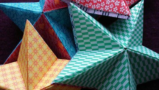 Cr Er Une Toile Diy En Origami Pour No L Origami Toiles Et Cr Er