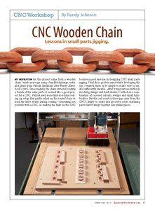 Cnc Wooden Chain Cnc Machines Project Ideas Cnc Router