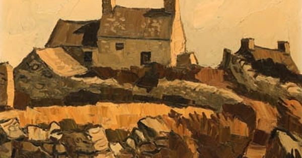 Sir kyffin williams 1918 to 2006 welsh landscape painter for Modern house john welsh