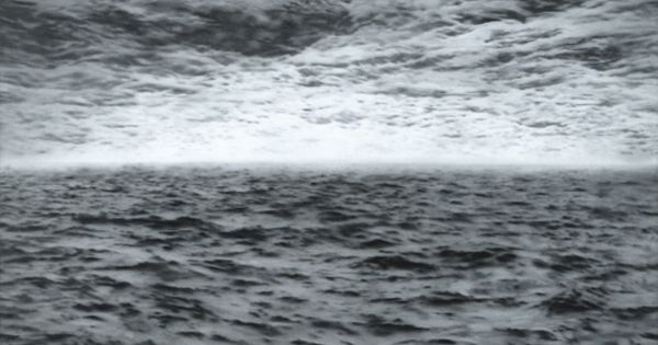 Gerhardt Richter, Sea, 1970, 200 cm x 200 cm, oil on canvas
