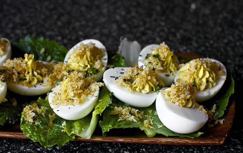 Caesar Salad Deviled Eggs Recipe