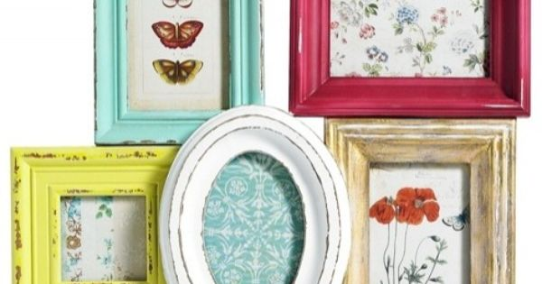Multi Picture Frame 5 by I Love Retro at Bouf.com