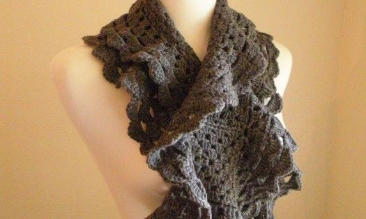 Free crochet pattern colorful scarves, wrap make handmade, crochet, craft