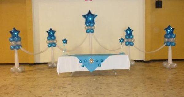 Decoracion de mesa principal globimundo mony principal for Decoracion para puertas de preescolar