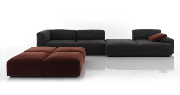 Order Now Online: Sofa Collection Mex Cube By Cassina With A Wide Range Of  Variations And Combinations For Different Uses. Design: Piero Lissoni.