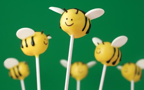 Bzzz Bzzz: Spring Cake Pops By The Brides Diary DIY -- see