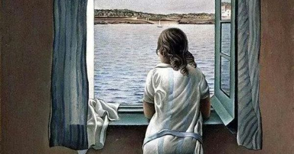 Ragazza alla finestra salvador dal 1925 picture painting art pinterest - Ragazza alla finestra ...