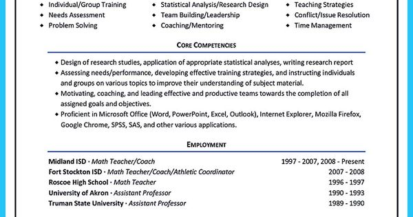 It is relatively easy to write an athletic training resume To - corporate trainer resume sample