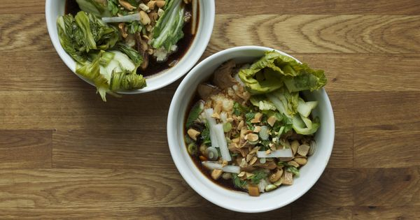 TT National | Rice Congee, Red-Braised Chicken Thighs and Pickled ...