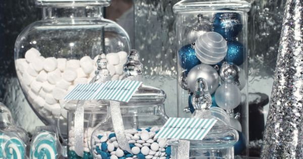 "Photo 5 of 14: winter wonderland / Christmas/Holiday ""Silver & Blue Christmas"""