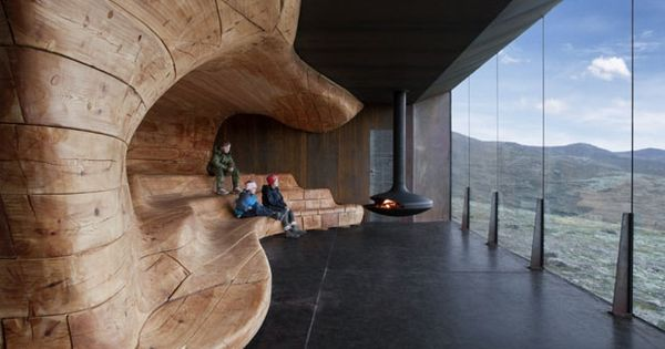 Tverrfjellhytta, Norwegian Wild Reindeer Pavilion Architecture, Landscape and Interior 2009–2011 Location Hjerkinn,