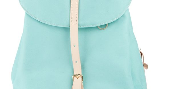 Love the pastel baby blue shade of the bag