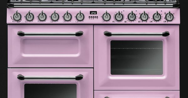 Smeg pink victoria cooker tr4110 home pinterest for Smeg herd